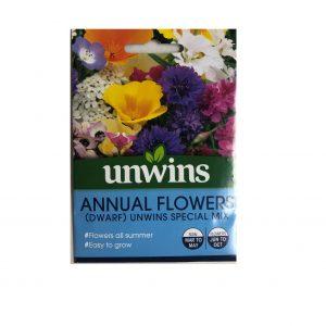 Annual Flowers ( Dwarf) Unwins Special Mix Seeds