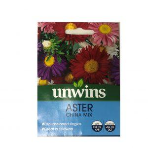 Aster - China Mix Seeds