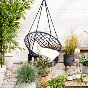 Black Hammock Chair