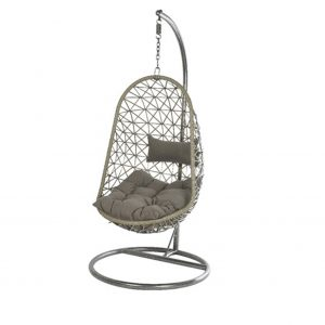 Grey Single Egg Chair
