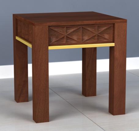 Izzy Walnut End table